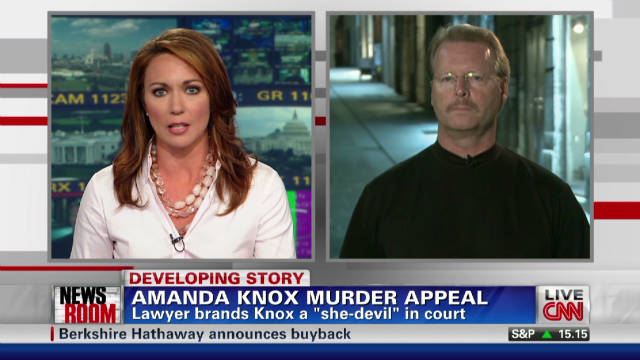 Knox's dad responds to 'she-devil' claim