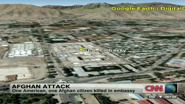 Fatal shooting at U.S. Embassy in Kabul