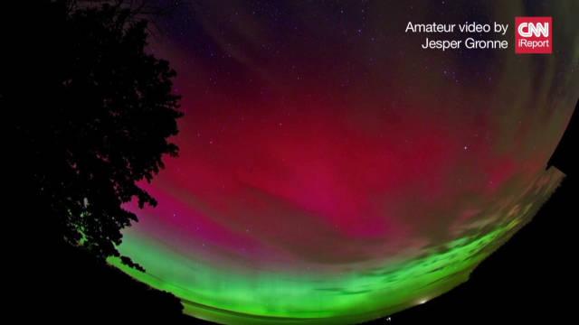 2011: Time-lapse of Aurora Borealis