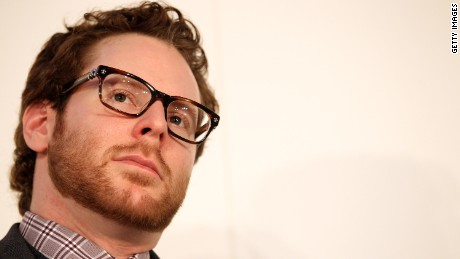 Sean Parker, former president of Facebook, at a January conference in Germany.