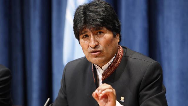 President Evo Morales can run for another term, Bolivia's constitutional court ruled Monday.