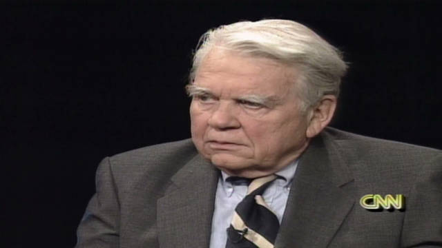 1996: Andy Rooney reflects on criticism