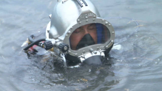 FBI's terror search goes under water