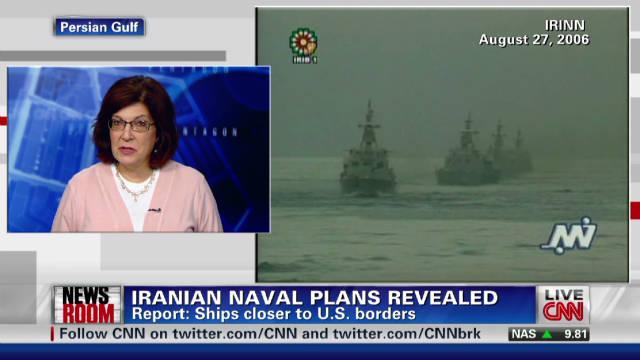 Iran sending ships near U.S. borders?