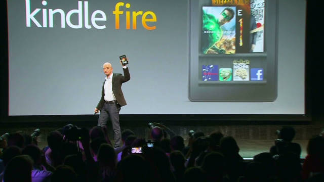 Tablet wars heat up with Kindle Fire