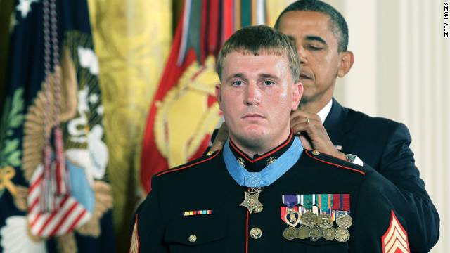 Sgt. Dakota Meyer, 23, received the Medal of Honor in September for heroism in Afghanistan.