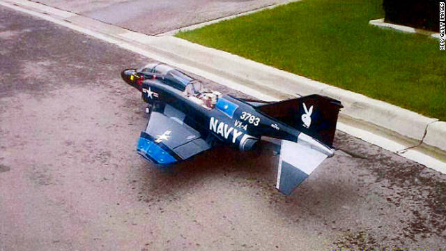Model planes used as attack drones?