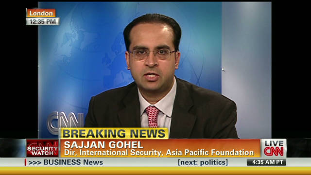 Dr Sajjan Gohel is International Security Director for the Asia-Pacific Foundation, an independent policy assessment group.