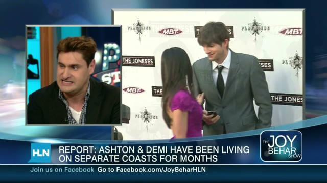 No more Ashton and Demi?