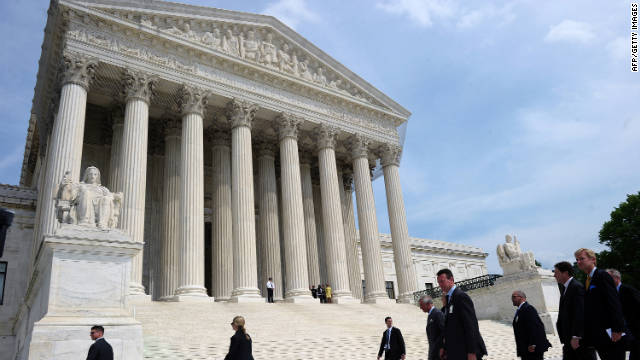 The U.S. Supreme Court justices may refuse to review any case -- they accept about 10% of the petitions they receive.