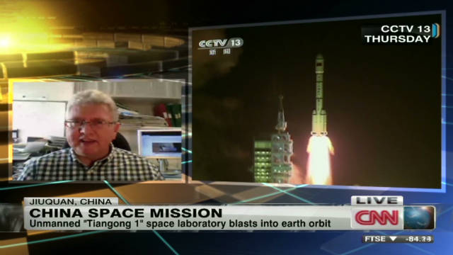 China looks to be space race player