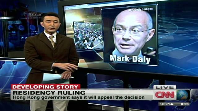 Hong Kong maid wins residency case