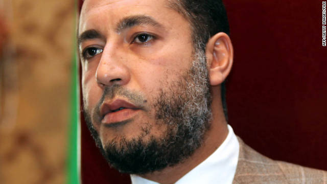 Libyan officials have criticized Niger's decision to offer amnesty to the late Moammar Gadhafi's son Saadi Gadhafi.