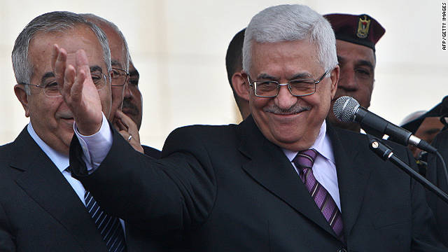 Mahmoud Abbas has said Palestinians would not return to negotiations until Israel agrees to certain conditions.