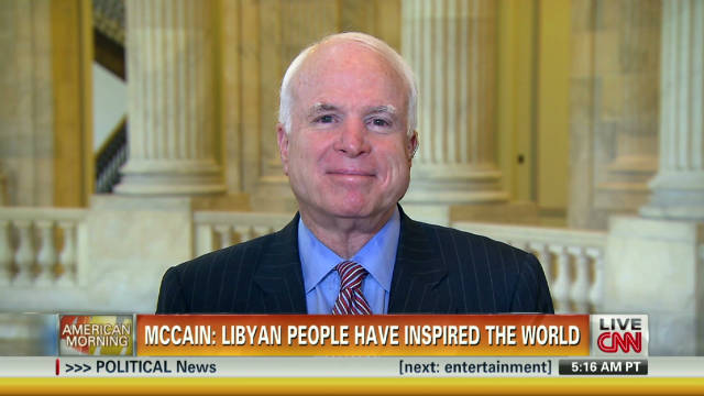 McCain: Libyans 'clearly need assistance'