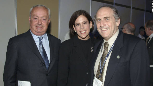 Nobel Prize for medicine winner Ralph Steinman (right) died just days before the winners were announced.