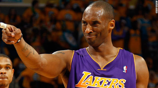 Kobe Bryant began his NBA career in 1996 and has been with the Los Angeles Lakers ever since.