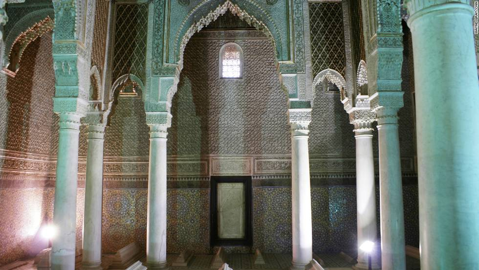 Dating back to around 1600, this mausoleum complex housing a sultan's family and retinue was only discovered by aerial surveyors in the early 20th century. One of the most impressive rooms is the Hall of Twelve Columns, where Sultan Ahmed al Mansour is buried.