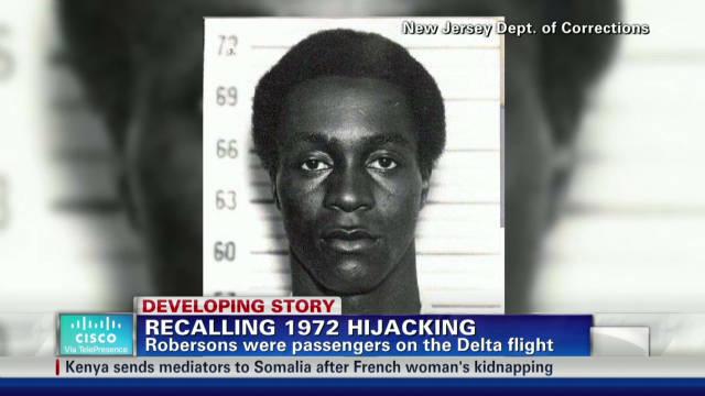Recalling 1972 plane hijacking