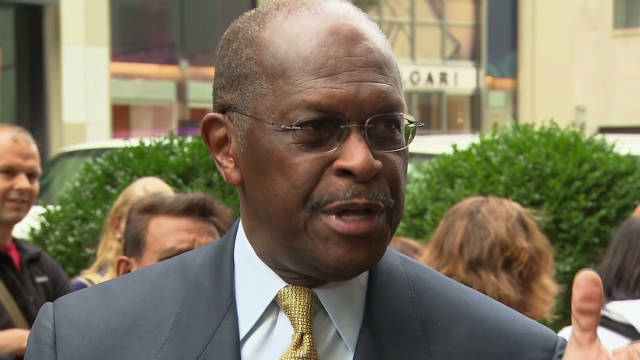 Cain: 'Don't care about a word on a rock'