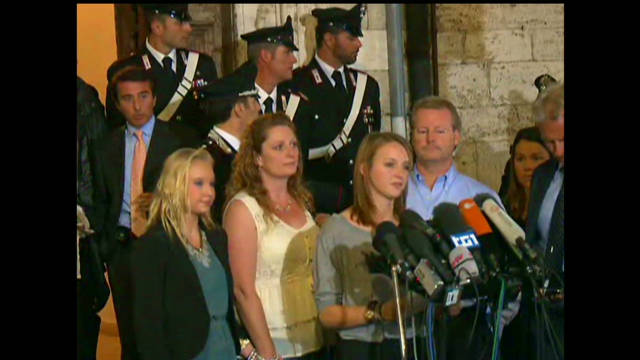 Amanda Knox's family reacts to ruling