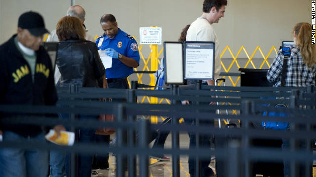 The Transportation Security Administration will begin testing machines to assist travel document checkers early next year.