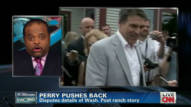 Rick Perry pushes back on racism charges