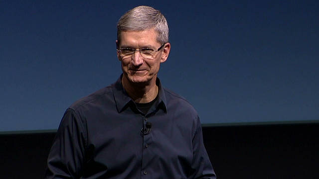 Apple CEO Tim Cook's opening speech