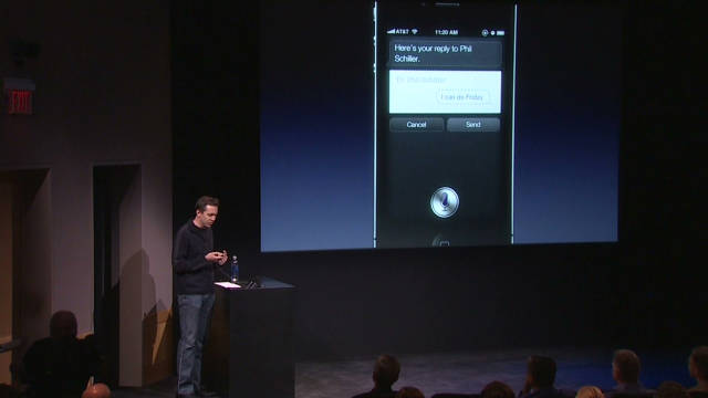 2011: Apple's new voice recognition
