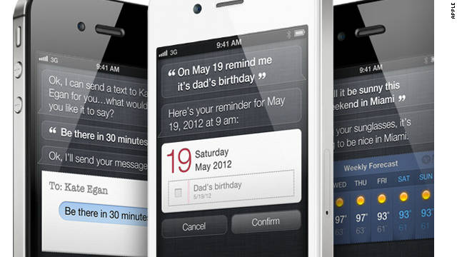 "Siri, the voice-enabled ""personal assistant"" on the iPhone 4S will listen and talk back on a range of issues."
