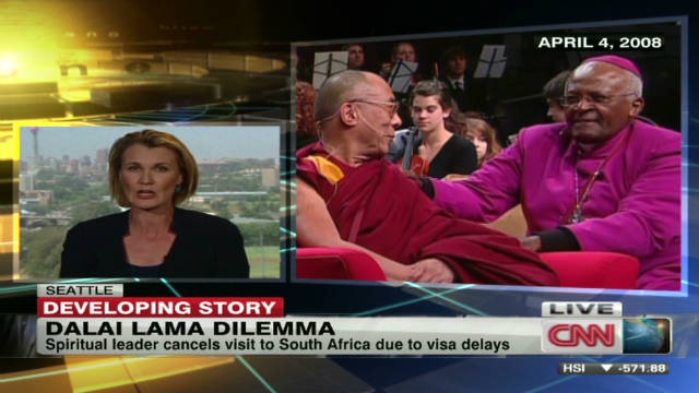 Dalai Lama sparks outrage in S. Africa