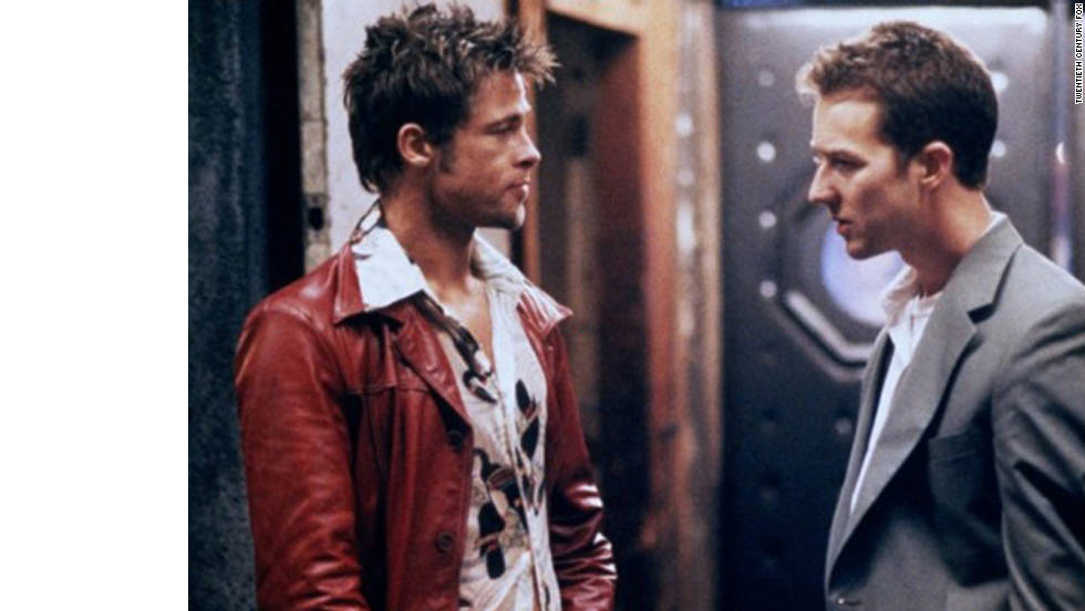 """Fight Club"" represents a more alternative swagger coach, with Brad Pitt's Tyler Durden teaching Edward Norton to form a fight club and overcome his insomnia."