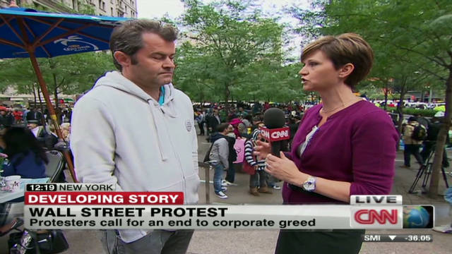 Wall St. protests grow amid debt crisis