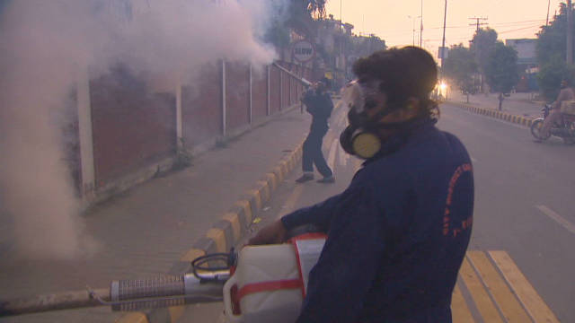 Pakistan struggles with Dengue fever