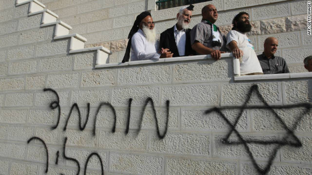 'Price tag' attacks against Palestinians