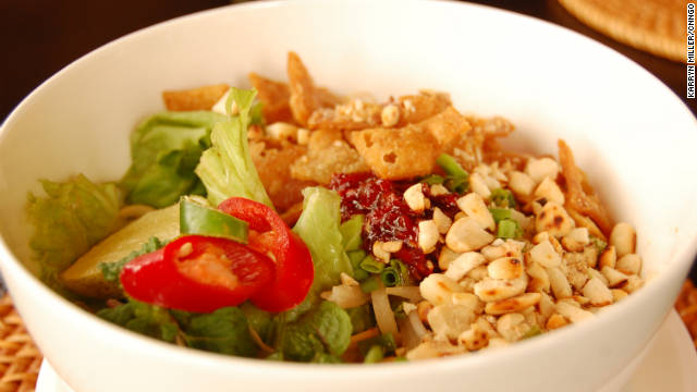 One of Vietnam's most popular dishes, cao lau combines elements from various cultures.