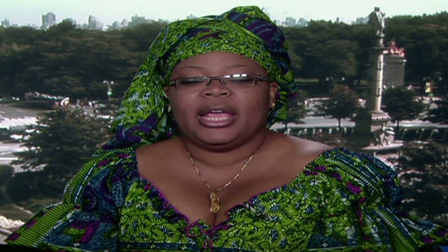 Gbowee talks about empowering women