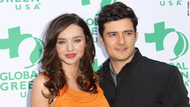 Miranda Kerr and Orlando Bloom are parents to 9-month-old Flynn Christopher.