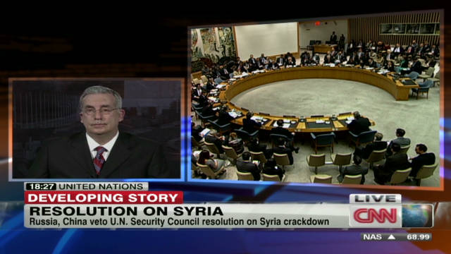 Showdown in U.N. over Syria