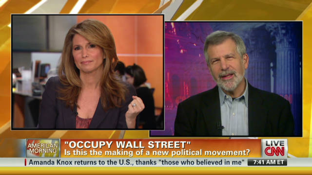 'Occupy Wall Street' political movement?