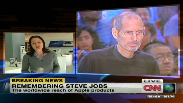 Steve Jobs' impact in Asia