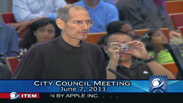 2011: Jobs' pitch for a new Apple campus