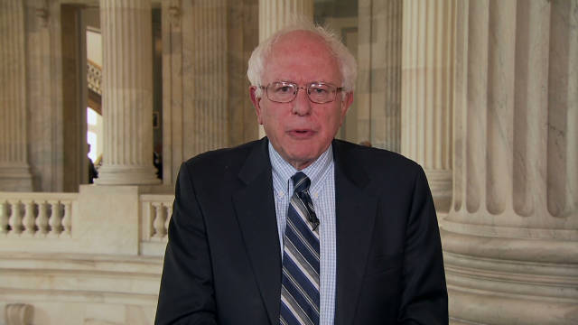 Sanders: 'I applaud Wall Street protests'
