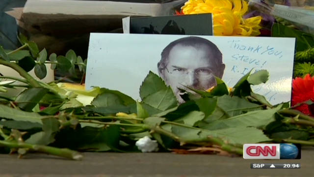The world remembers Steve Jobs
