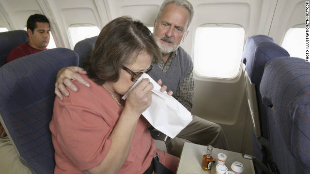Ewww! Germs live HOW long on planes?