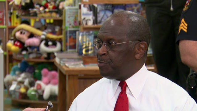 Cain: 'Occupy' protests waste of time