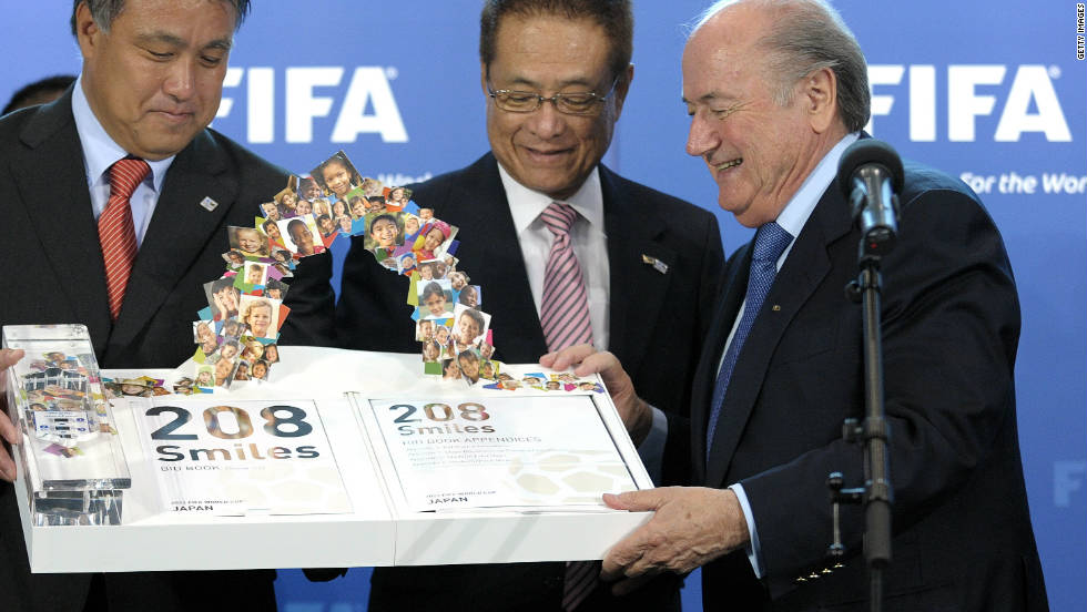 A turbulent period for FIFA began in May 2010 when the world's governing body for soccer was presented with official bid documents by Australia, England, Netherlands/Belgium, Japan, South Korea, Qatar, Russia, Spain/Portugal and the United States for the 2018 and 2022 World Cups. During the ceremony at its Swiss headquarters, FIFA announced dates for inspections of the bidding nations from July-September.