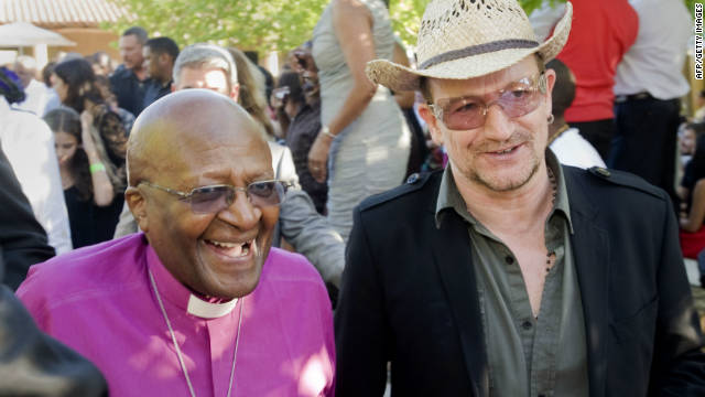 Bono: Tutu is punk rock, radical