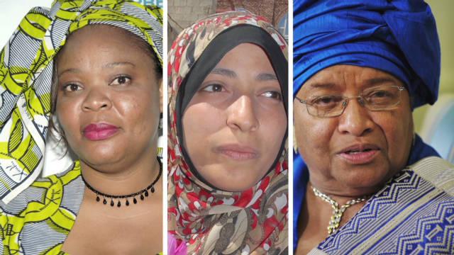 Two Nobel recipients from Liberia