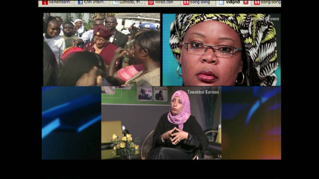 Women's activists share Nobel Peace Prize